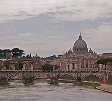 A view to St Peter's Basilica, Rome by JMChown