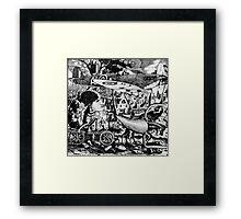 Bruegels Vision. Framed Print