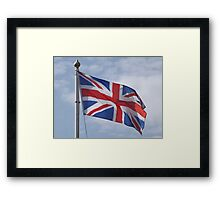 British Pride Framed Print