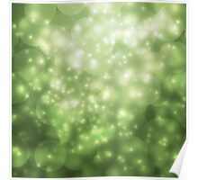The beauty of glamour snowflakes Poster
