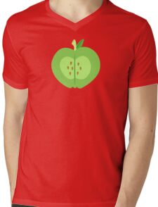 My little Pony - Big Mac Cutie Mark V3 Mens V-Neck T-Shirt