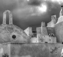 Santorini Shapes by Colin Payne
