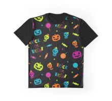 Halloween pattern Graphic T-Shirt