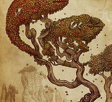 Autumn Chameleons by Eric Fan