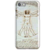 Vetruvian Man iPhone Case/Skin