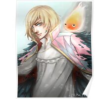 Howl and Calcifer Poster