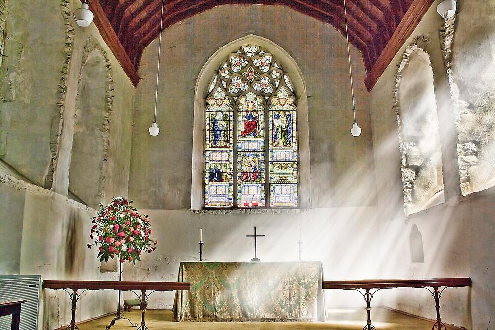 St Nicholas Offham Chancel by Dave Godden