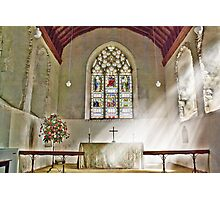 St Nicholas Offham Chancel Photographic Print