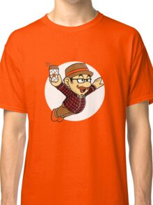 hipster plumber Classic T-Shirt