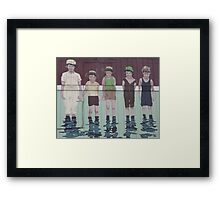 Happy Summer - A Great Way to Cool Off Framed Print