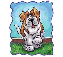 Animal Parade St. Bernard Photographic Print