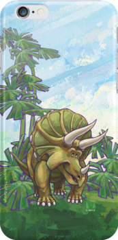 Animal Parade Triceratops by ImagineThatNYC