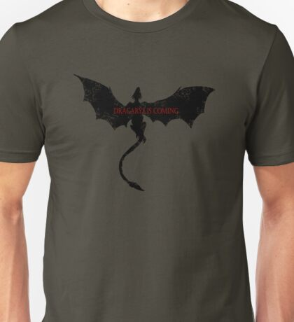 DRAGON FIRE IS COMING Unisex T-Shirt