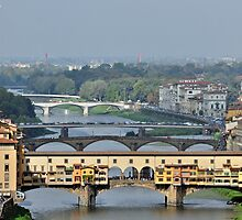 Bridges over the Arno by Karen E Camilleri