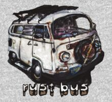 Rust Bus Kids Clothes