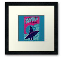Point Break Latigo Beach Surfing Framed Print