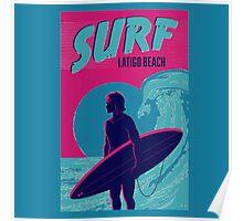 Point Break Latigo Beach Surfing Poster