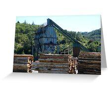 Lumberyard Greeting Card