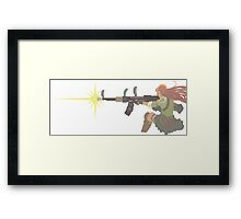 Resistance Caitlyn Framed Print