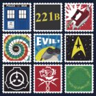 Nerd's Stamp Collection: Requested by MoxieToxic by mcgani