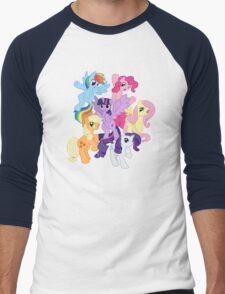 My Little Pony Group Men's Baseball ¾ T-Shirt