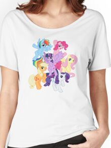 My Little Pony Group Women's Relaxed Fit T-Shirt