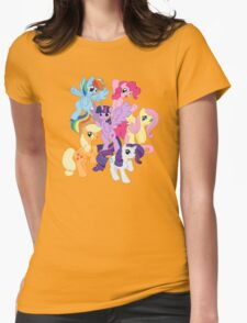 My Little Pony Group Womens Fitted T-Shirt