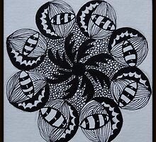 Zentangle 2 by Debbie Robbins