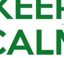 KEEP CALM I AM IRISH Sticker