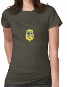 Droid 01 Womens Fitted T-Shirt