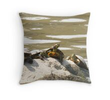 Filling up with Shell Throw Pillow