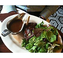 Porter House Steak Photographic Print