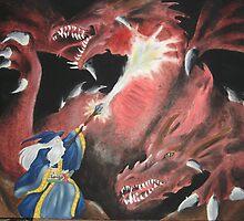Wizard Fight by Katrina Heilhecker