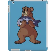 Brown Bear's Catch iPad Case/Skin