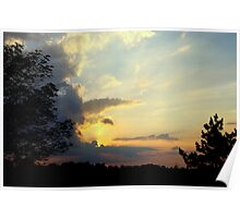 Sunset over Norfolk County............. Poster