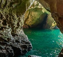 Rosh Hanikra Grottoes by Sergey Simanovsky