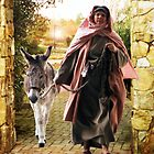 Israelite Woman with Donkey by Rick Short