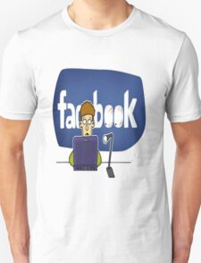 Facebook aholic T-Shirt