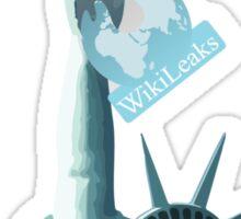 WikiLeaks Liberty Sticker