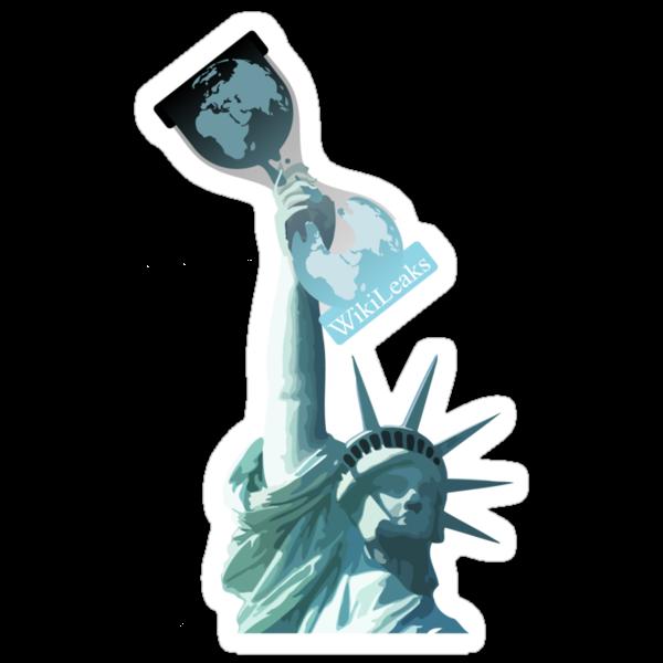WikiLeaks Liberty by dknelson