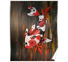 Autumn Koi Poster