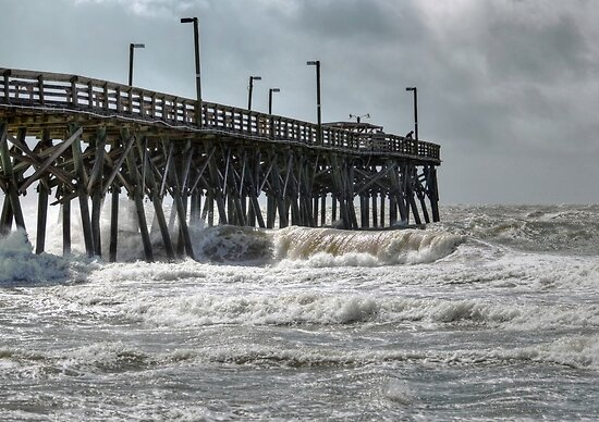 The Angry Sea by Kathy Baccari