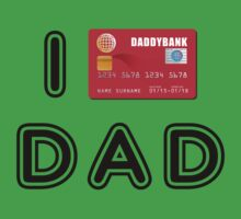 I love Dad (credit card version) Kids Clothes