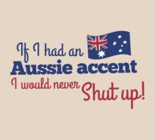If I had an Aussie accent I would never shut up! with Australian flag by jazzydevil
