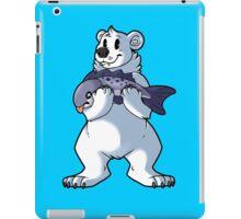 Polar bear's catch iPad Case/Skin