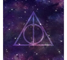 Deathly Hallows in Space Photographic Print