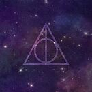 Deathly Hallows in Space by hannahison