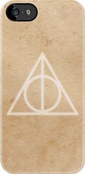 Deathly Hallows on Parchment by hannahison