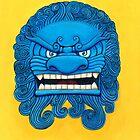 Chinese Guardian Lion by HiddenCityArt