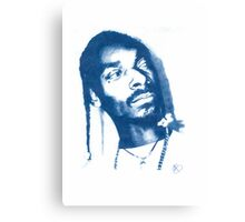 Snoop Doggy Dogg - Pencil Portrait Canvas Print